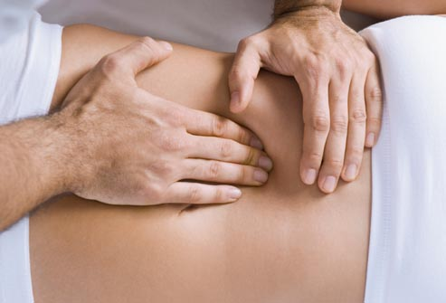 getty rf photo of spinal manipulation